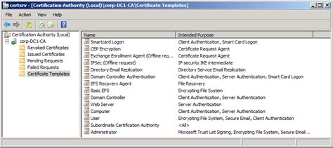 certificate authority templates rsa 1024 bits are blocked windows pki