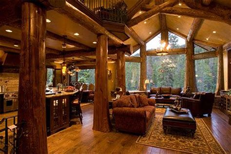 Log Home Interiors Images Log Cabins With Log Post Inside House Post Pictures