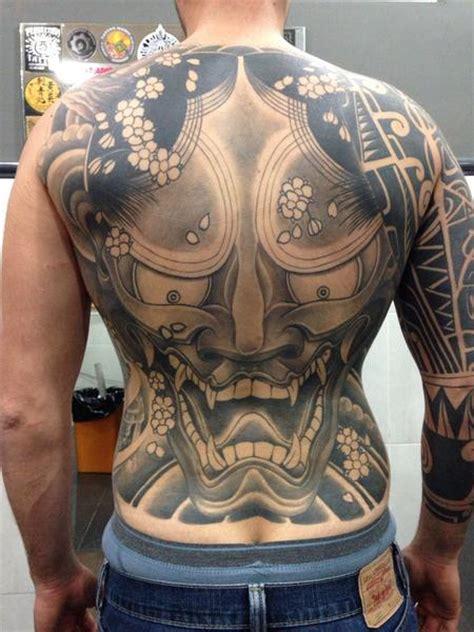 hannya mask tattoo back piece off the map tattoo jose gonzalez tattoos page 1