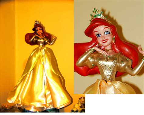 ariel tree topper by lasirenofeire on deviantart