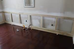 Wainscoting Measurements Furniture Do It Yourself Dining Room Wainscoting And