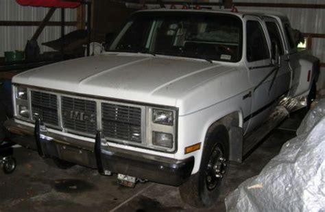 how cars run 1993 gmc 3500 electronic throttle control purchase used 1988 gmc 3500 sierra 1 ton dually crew cab 5th wheel tow vehicle in lawrence
