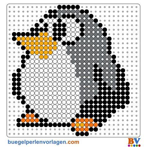 free beados templates pinguin b 252 gelperlen vorlage hama vorlage