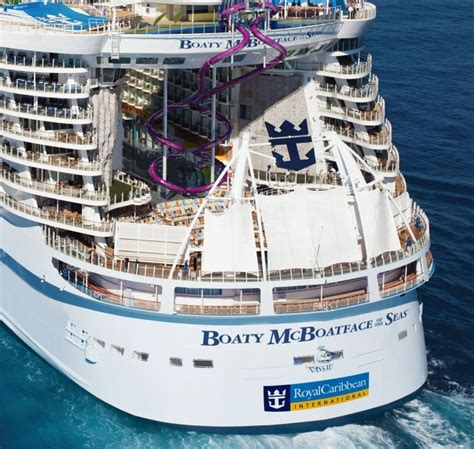 royal caribbeans newest ship royal caribbean asks genius behind boaty mcboatface to