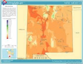 precipitation map for new mexico classbrain s state