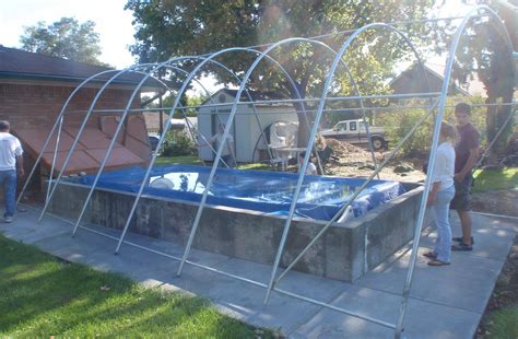 Garage Swimming Pool by How To Turn An Outdoor Swimming Pool Into An Indoor