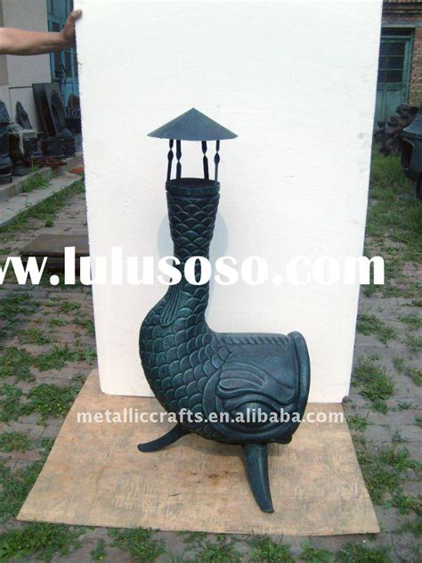 Make Your Own Chiminea Fish Shaped Chiminea For Sale Price China Manufacturer