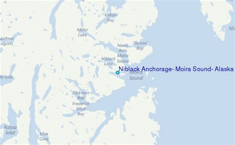 Anchorage Tide Table by Niblack Anchorage Moira Sound Alaska Tide Station