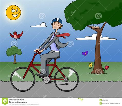 Ordinal Bike To Work 13 bike to work stock illustration illustration of