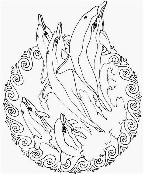 dolphin mandala coloring pages coloring pages fish mandala coloring pages free and printable