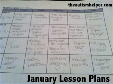 autism lesson plan template autism lesson plan template