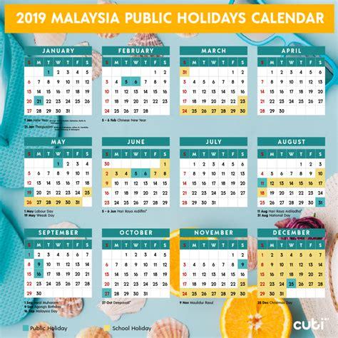 malaysia public holidays calendar cutimy travel