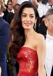 is amal clooney hair one length 147 best images about red carpet hair on pinterest sally