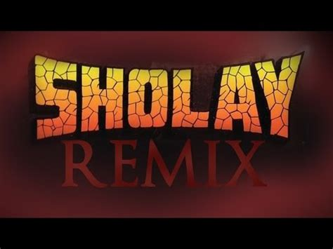 sholay theme   songs remix