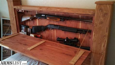 headboard gun safe armslist for sale hideaway gun safe