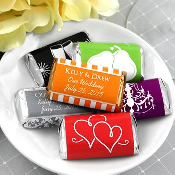 wedding favors at nice prices personalized hershey s assorted miniatures