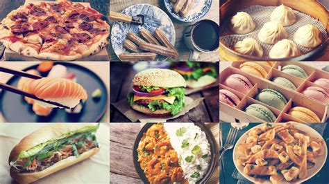 foods from around the world the most popular foods around the world according to instagram