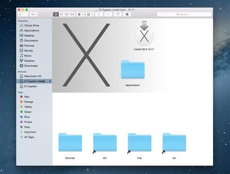Usb Bootable Osx El Capitan 10105 how to create a bootable install usb drive of mac os x 10