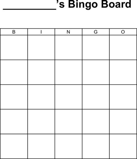 bingo board template word 5 bingo templates in microsoft word for free
