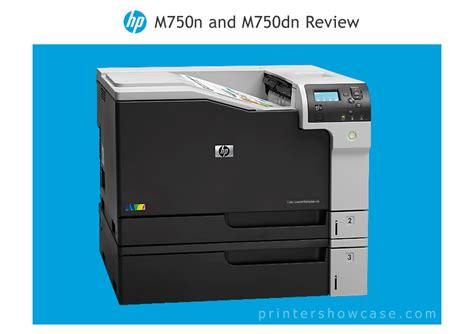 laser color printer reviews color laser printer review hp m750