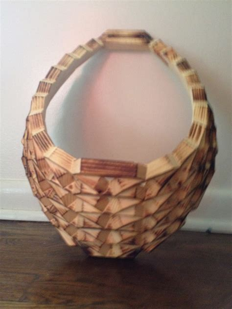 Baskets Handmade - handmade hanging wooden basket for sale for 25 wooden