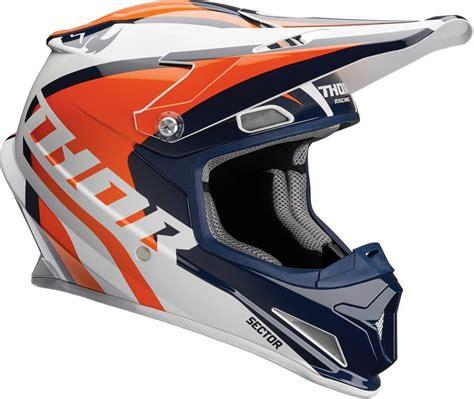motocross helmet with visor 109 95 thor sector ricochet dot approved mx motocross