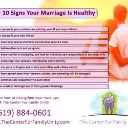 10 Signs He Is Married by Top 10 Signs Your Marriage Is Healthy Visual Ly