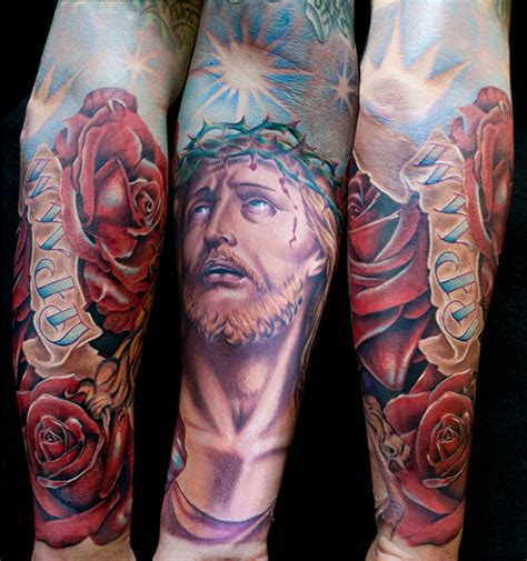 tattoo jesus arm 3d 40 amazing 3d tattoo designs of 2013 in vogue