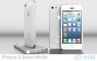 Iphone 5 white silver vray 3d model max obj 3ds fbx dxf dwg cgtrader