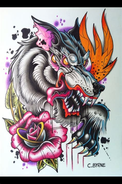 wolf tattoo design best tattoo designs