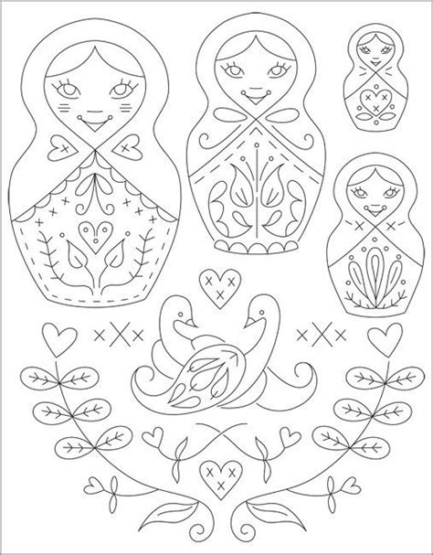 russian nesting dolls template pix for gt russian nesting doll template babushka