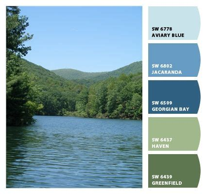 river colors a southern appalachia river color palette cool