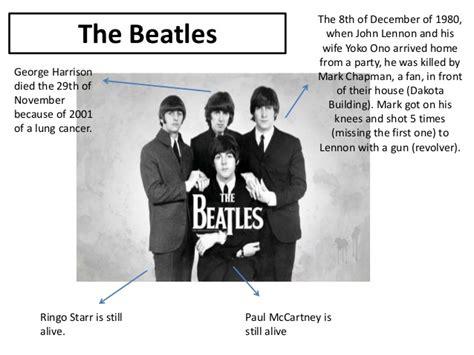 john lennon mini biography the beatles