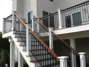 Exterior Banister Stairs Awesome Exterior Wrought Iron Stair Railings