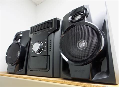 Home Theater Mini Sharp sharp cd dh950p 240w 5 disc home theater system black local up 74000369863 ebay