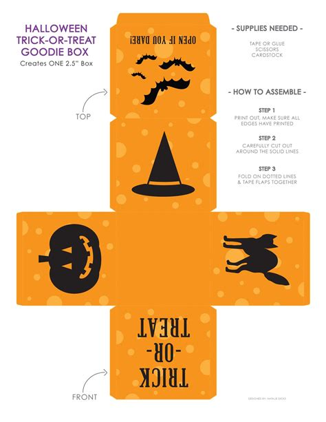 halloween goodie box life made simple