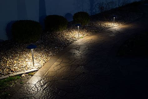hton bay led solar pathway lights led outdoor path lights waterproof outdoor solar
