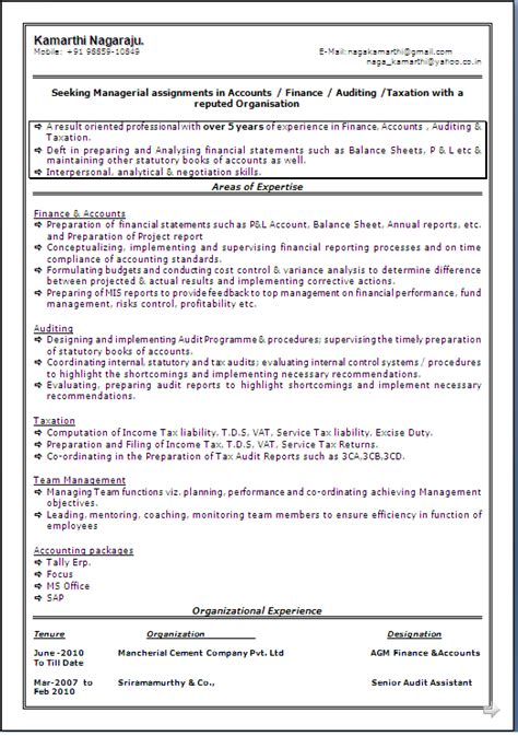 In Cement Industry For Mba Fresher by Sle Resume Format With Best Presentation Of A Master Of