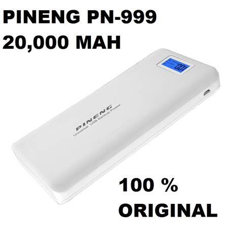 Power Bank Pineng Original power bank carregador pineng 20000mah pn 999 original r 89 90 no mercadolivre