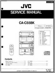 California Owners Manual Jvc Ca C55bk Service Manual Analog Alley Manuals