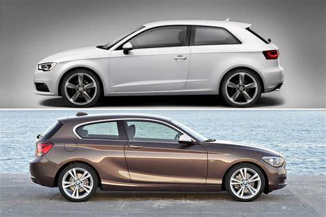 Bmw 1er Cabrio Vs Audi A3 Cabrio by Bmw 1er F20 Vs Audi S New A3