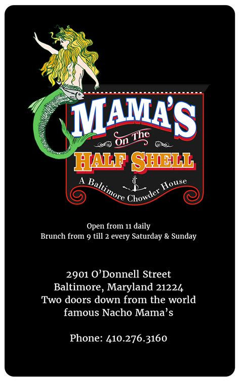 Half Price Gift Cards Restaurants - gift cards mama s on the half shell