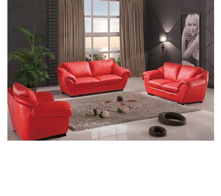 Tunik Set 2 In 1 8080 modern leather living room by esf furniture products leather living
