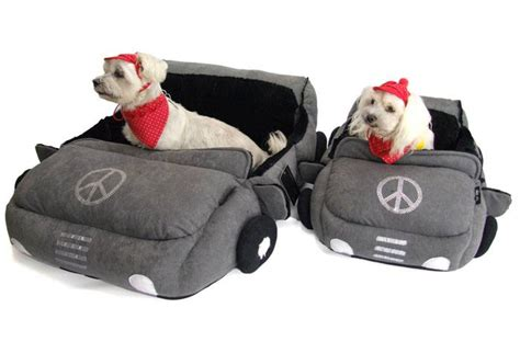 dog car bed dog bed cabriolet for dogs grey dog bed car bed dog