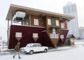 Upside Down House 16 Weirdest Houses Business Insider