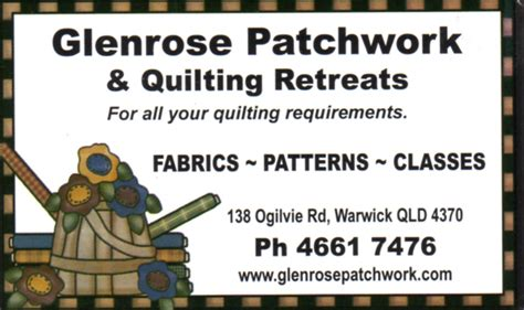 Glenrose Patchwork - wheretiz business directory home