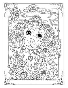 dazzling dogs talavera pered pets coloring book by marjorie sarnat zentangles