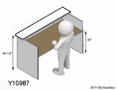 reception desk height standard classic custom standing height reception desk 5 w