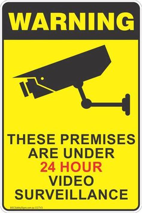 the importance of cctv surveillance, security notice
