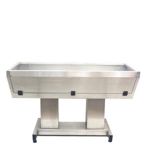 vasca toelettatura vasca per toelettatura in acciaio inox con sportello anteriore
